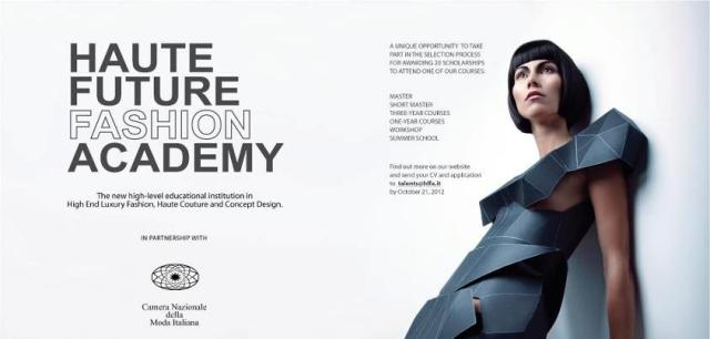 Fashion haute couture luxury and education let s for Fashion academy
