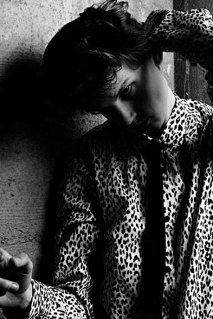 Saskia de Brauw, photo by Hedi Slimane