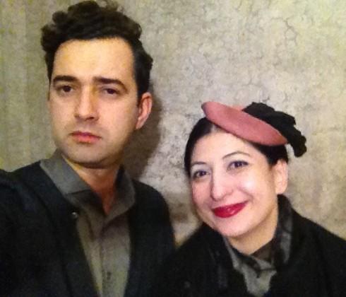 Angelos Bratis and me, photo by Angelos Bratis