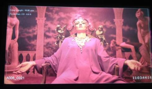 """Asia Argento, still image from """"The voice thief"""" by Adan Jodorowsky"""