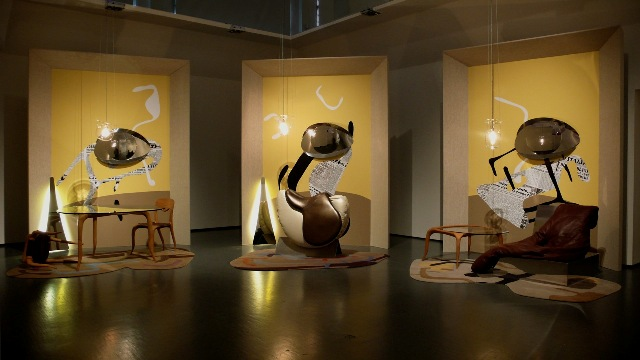 Installation by Nigel Coates
