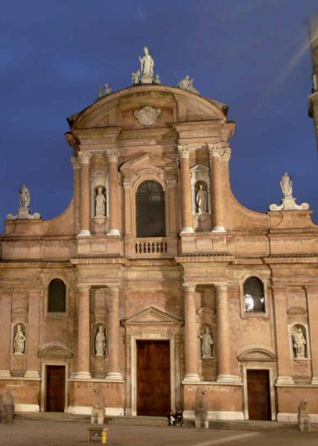 The San Prospero Cathedral in Modena