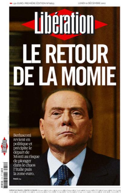 The newspaper Libération