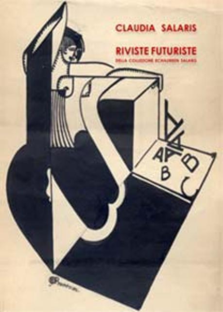 Riviste Futuriste. Collezione Echaurren Salaris, Gli Ori Editions, Sketch by Enrico Prampolini, 1917-1919