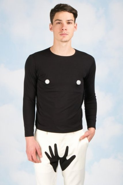 Fashion for men by Yoko Ono for Opening Ceremony