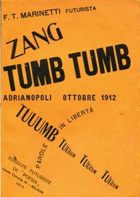 Zang tumb tumb marinetti