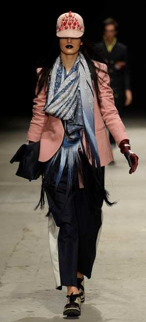 Andrea Pompilio Fall/Winter 2013-2014, photo courtesy of Pitti