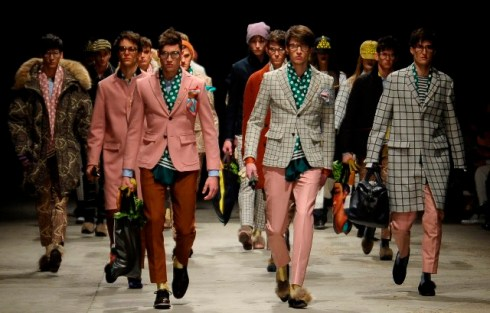 Andrea Pompilio Fall/Winter 2013-2014, photo by Giovanni Giannoni, courtesy  of Pitti