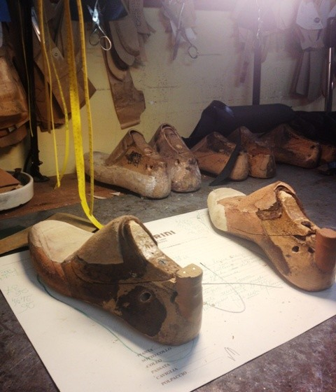 The prototype to make the shoes