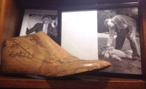 The prototype to make the shoes for the iconic Gianni Agnelli