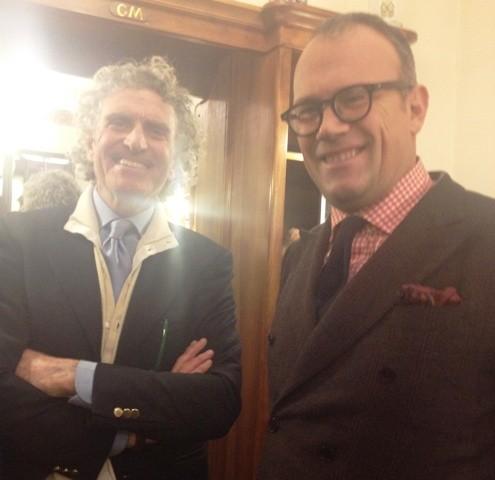 The master Marini and Cesare Cunaccia