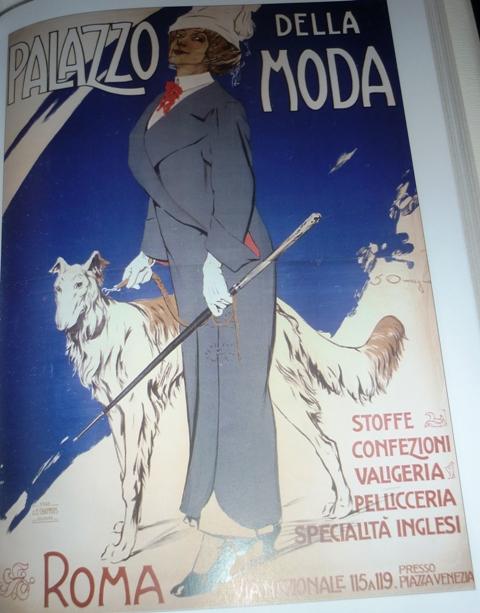 Fashion Palace, illustration by Filippo Omegna, 1910
