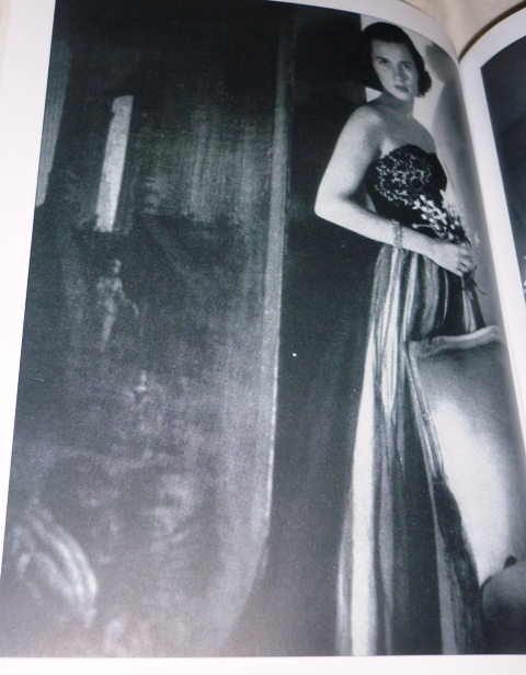Dress by Irene Galitzine featuring in Vogue America, December issue 1949