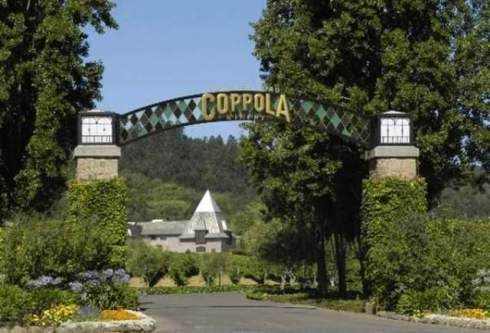 The winery of Francis Ford Coppola in Geyserville