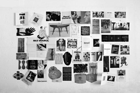 Galleria Carla Sozzani, invitationss 1990-1995, courtesy of Galleria Carla Sozzani