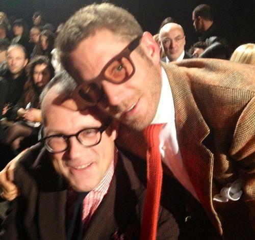 Cesare Cunaccia & Lapo Elkann