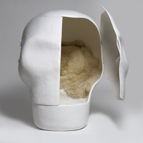 Skull chair by Atelier van Lieshout