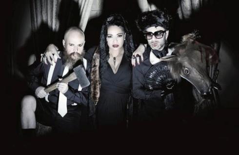 Army of Lovers: Alexander Bard, Camilla Hanemark and Jean-Pierre Barda