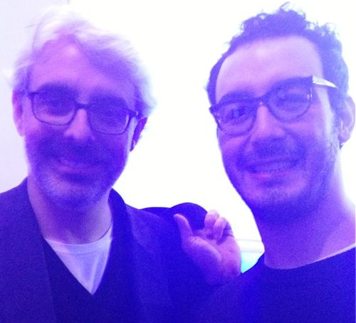 Lupo Lanzara and the genius milliner Francesco Ballestrazzi
