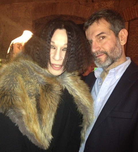 Andrea Splisgar and Sergio Zambon