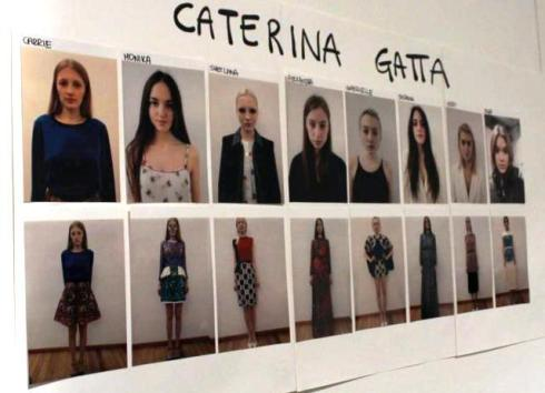 Caterina Gatta at Super, photo by Giorgio Miserendino