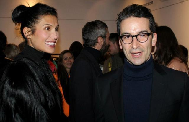Goga Ashkenazi and Federico Marchetti in the crowd as well as Giuliana Bonafaccia Mancinelli, photo by Giorgio Miserendino