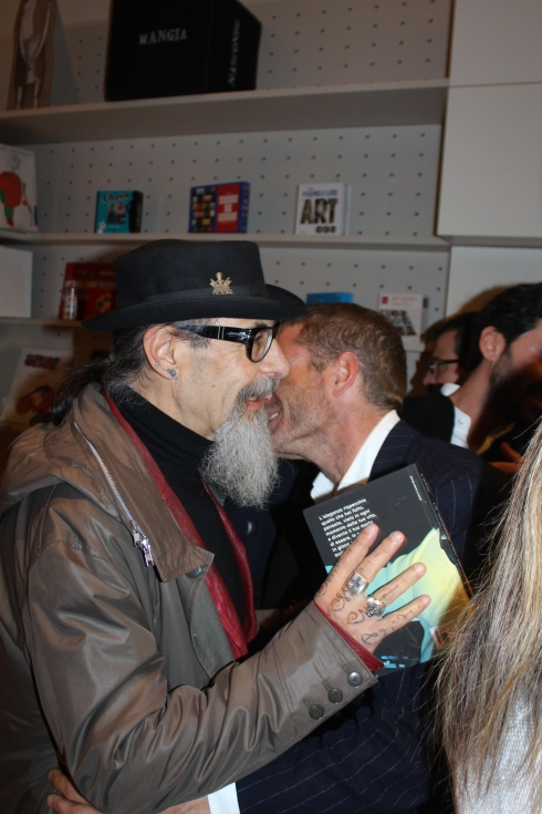 Roberto D' Agostino and Lapo Elkann, photo by Giorgio Miserendino