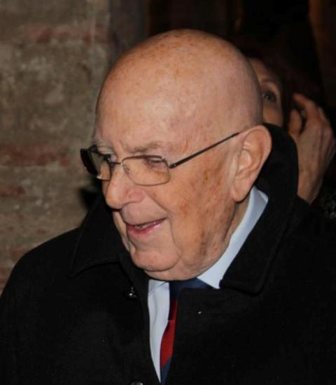 Mario Boselli, President of  National Chamber of Italian Fashion, photo by Giorgio Miserendino