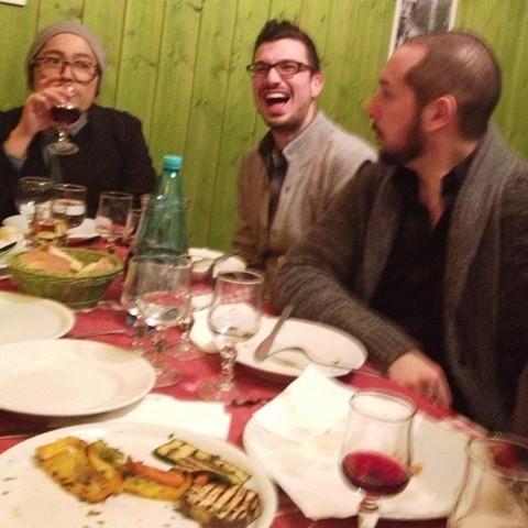Masashi Ono, Federico Flamminii Albani and Marco D' Amico