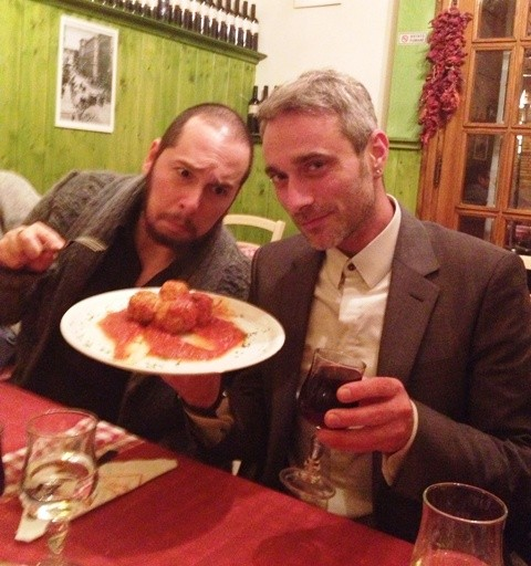 Marco D' Amico, Olivier di Gianni and the meat balls