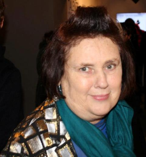 Suzy Menkes, photo by Giorgio Miserendino