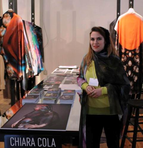 Chiara Cola, photo by Giorgio Miserendino