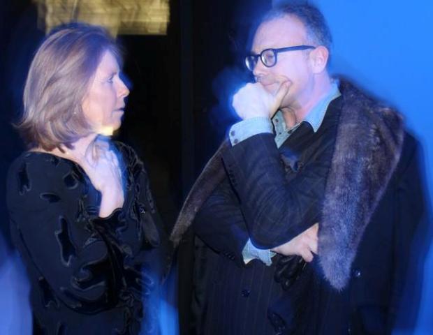Fabiana Balestra and Cesare Cunaccia, photo by Giorgio Miserendino