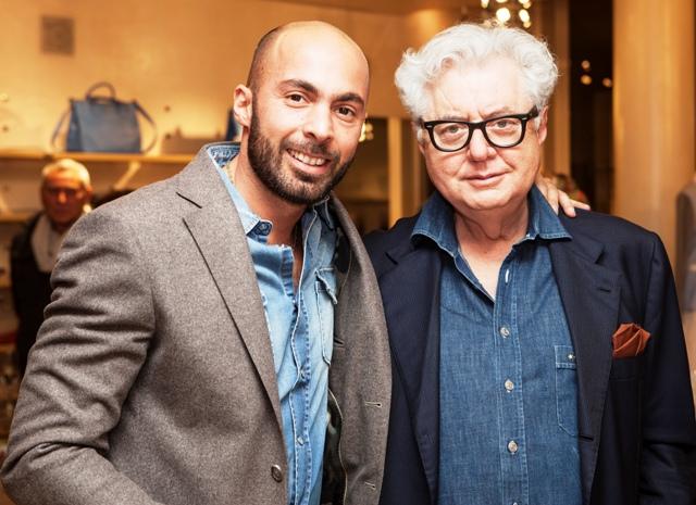 Alberto Brescia & Alberto Biani, photo courtesy of Banner Boutique