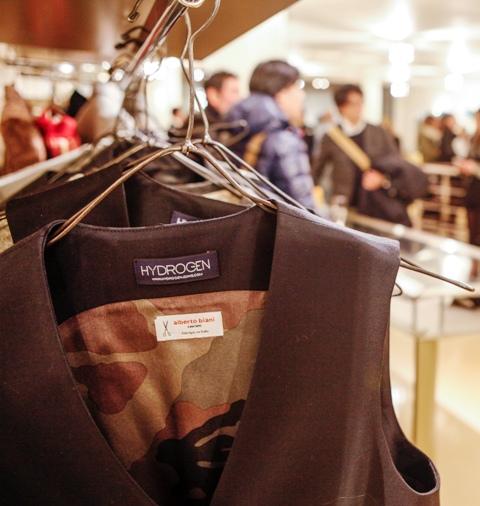 Alberto Biani & Hydrogen, photo courtesy of Banner boutique