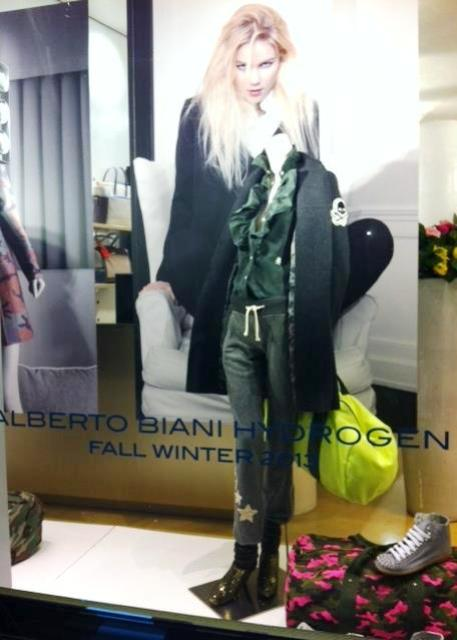 Alberto Biani & Hydrogen, photo courtesy of Banner boutique