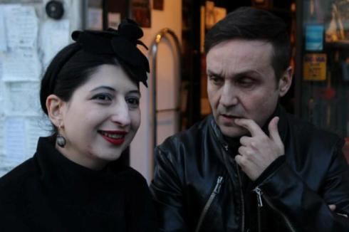 Sylvio Giardina and me, photo by Giorgio Miserendino