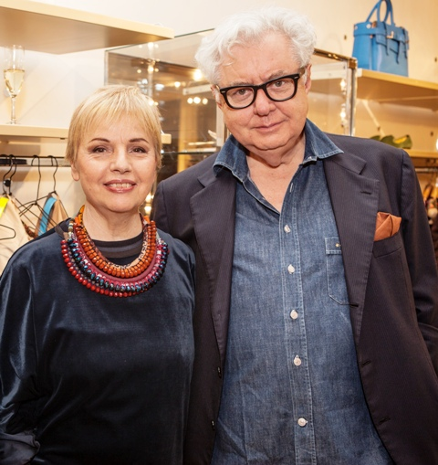 Rosy Biffi & Alberto Biani, photo courtesy of Banner boutique