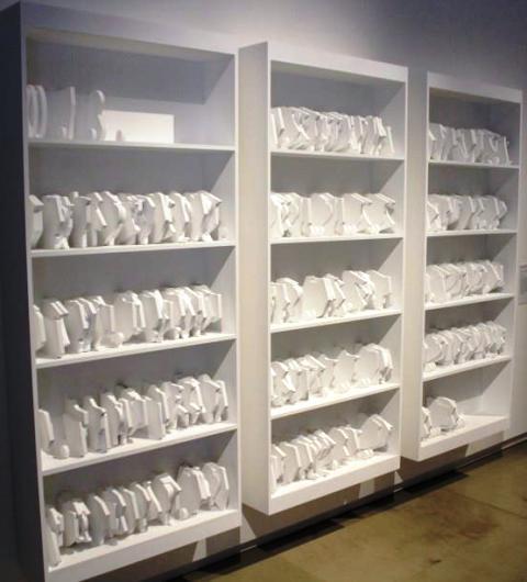 Perfect bookcase, Dongwan Kook, photo by Giorgio Miserendino