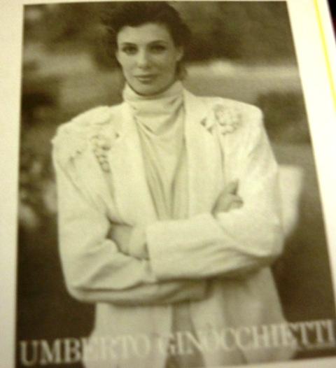 Kelly Le Brock in Umberto Ginocchietti, 1985