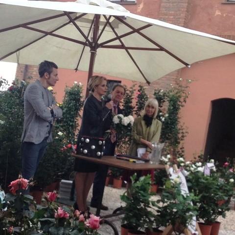Vittorio Barni, Antonella Fornai and Isabella Ferrari