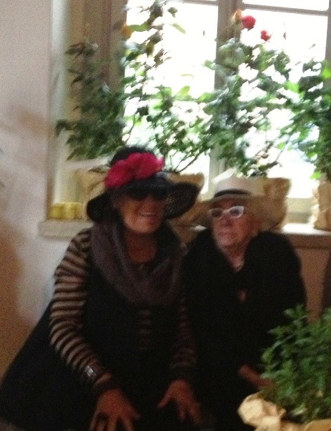 Carla Fendi and Lina Wertmuller