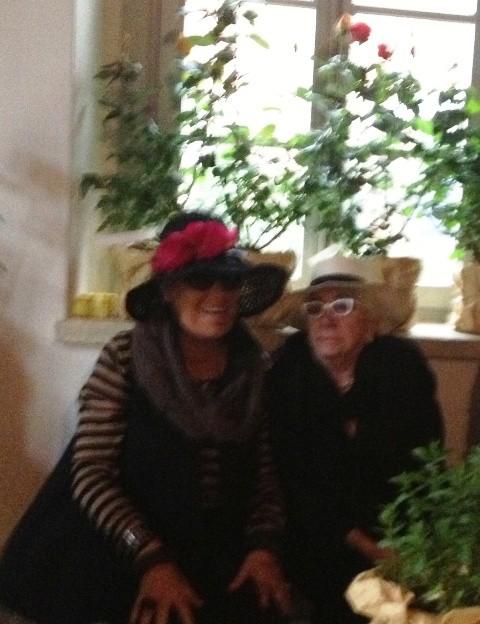 Carla Fendi and Lina Wertmuller