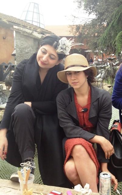 Delfina Delettrez and me