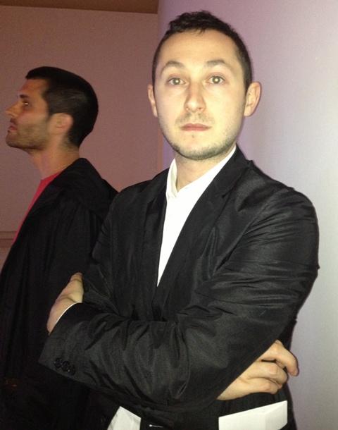 The curator Alex Glenfeld