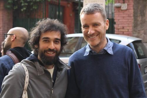 Pietro Ruffo and Lorcan O' Neill, photo by Giorgio Miserendino