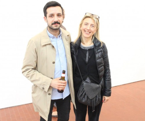 Prem Sahib & a friend, photo by Giorgio Miserendino