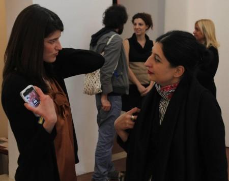 Laurita and me, photo by Giorgio Miserendino