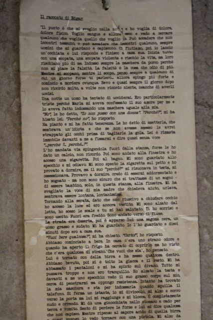 The Emerick Lenders' diary, photo by Giorgio Miserendino