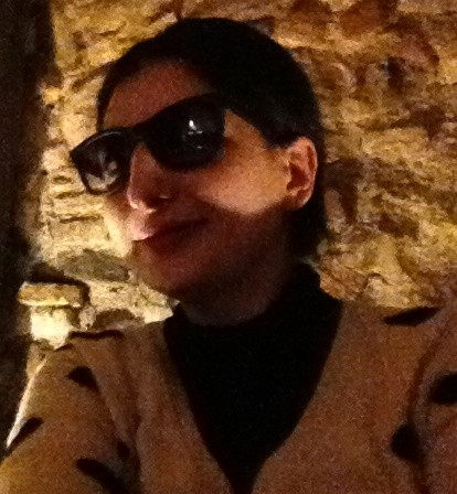 Wearing the I-therming sunglasses by Italia Independent